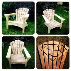 Chair of Steel - Superman Adirondack muskoka chairs