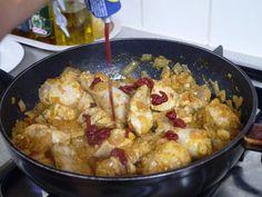 This Muslim Girl Bakes: Chicken Madras. Madras Curry, Muslim Girls, Rice Dishes, Meat, Chicken, Baking, Healthy, Food, Bakken
