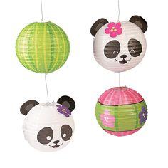 Panda+Party+Paper+Lanterns+-+OrientalTrading.com