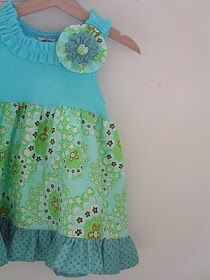 Tea Rose Home: Tutorial ~Little Girl's Tunic with Tank Top~