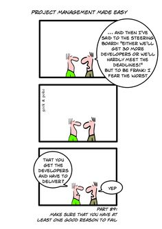 Projectmanagement - at least one reason to fail
