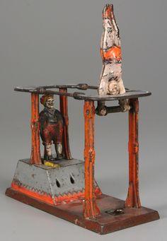 cast iron circus bank