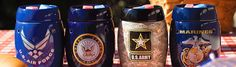 US Air Force, US Navy, US Army, Marines Scentsy Warmers- Our Patriot Collection