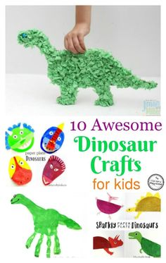 Dinosaur Project For Kids - 10 Awesome Dinosaur Crafts For Kids Dinosaur Crafts Kids Dinosaur Habitat How To Make Shoebox Scenes Dinosaur 7 Fun Dinosaur Projects Dinosaur Proj. Dinasour Crafts, Dinosaur Crafts Kids, Dino Craft, Dinosaur Projects, Dinosaur Activities, Dinosaur Art, The Good Dinosaur, Toddler Crafts, Diy Crafts For Kids
