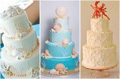Torte e cake design per matrimonio a tema mare