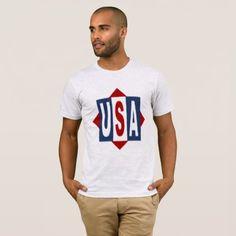 TEE-SHIRT THE USA SPORT T-Shirt - diy individual customized design unique ideas