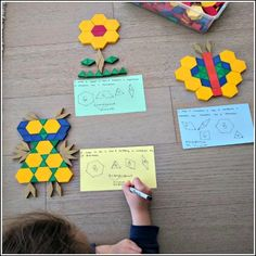 Making Pattern Block Animals (and other living things)