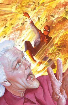Spider-Man - Arte de Alex Ross. http://www.alexrossart.com/