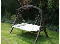 Kingdom Arc Hammock Swing http://www.gardenfurniturecentre.co.uk/kingdom-arc-hammock-swing.html £199.99