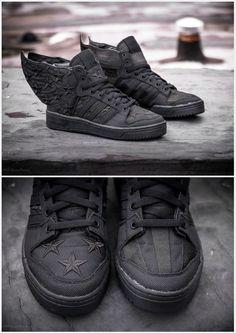 "A$AP Rocky x Jeremy Scott x adidas Originals JS Wings 2.0 ""Black Flag"""
