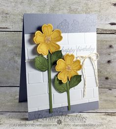 Just in CASE Birthday Blossoms page 13 Stampin Up Catalog #stampinup #justincase www.stampstodiefor.com