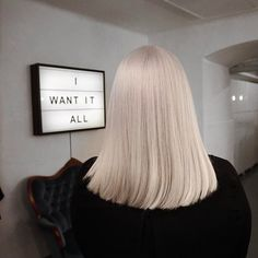 Uploaded by Find images and videos about hair, blonde and hairstyle on We Heart It - the app to get lost in what you love. Blonde Hair Looks, Brown Blonde Hair, Platinum Blonde Hair, Hair Inspo, Hair Inspiration, Grunge Hair, Gorgeous Hair, Dyed Hair, Short Hair Styles