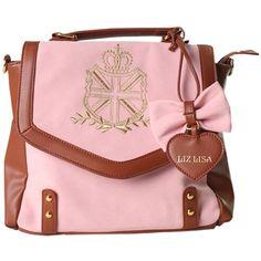 Partiss Women's Sweet Lolita Piano Handbag (285 CNY) via Polyvore featuring bags, handbags, pink purse, pink hand bags, hand bags, purse bag and man bag