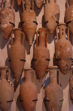 Amphores romaines (© Laurent Gheysens, service Communication Ville d'Agde)