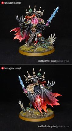 CoolMiniOrNot - Abaddon the Despoiler Warhammer 40k Figures, Warhammer Paint, Warhammer Models, Warhammer 40k Miniatures, Warhammer 40000, Dragon Miniatures, Fantasy Miniatures, Space Marine, Chaos Daemons