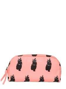 MARC BY MARC JACOBS - PRINTED CANVAS MAKE-UP BAG