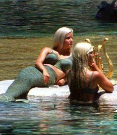 Disneyland Lagoon Mermaids, circa 1960