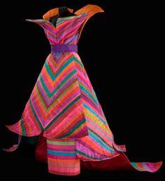 Roberto Capucci - Haute Couture - Robe de Soirée 'Sculpture' - Linee