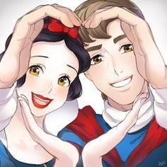 Snow White and the Prince!                              …