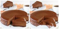 Čokoládový dort bez vaření, bez pečení, který válcuje internet recept – snadnepecivo Raw Vegan Cheesecake, Cheesecake Recipes, Sweet Desserts, Delicious Desserts, Swiss Roll Cakes, Ice Cream Candy, Snack Recipes, Snacks, Mini Cheesecakes