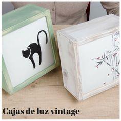 Kitkasa, cajas de luz vintage