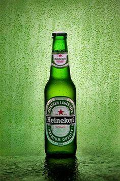 Heineken Lager Beer, Heineken Nederland B.V., Netherlands - 5% ABV Euro pale lager