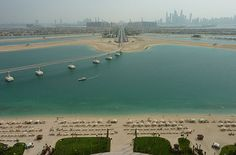 Looking down the 'palm' from Atlantis, Dubai. How about this for wow?!