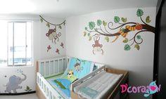www.dcorazon.net. Diseño de cuartos infantiles