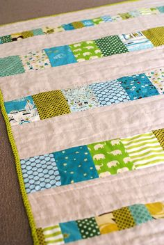 Baby Quilt by rebeccalefeuvre, via Flickr