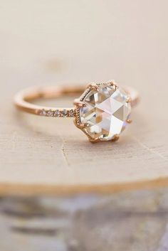 Sparkle Like A Diamond: 12 Moissanite Engagement Rings ❤ See more: www.wedding… Sparkle Like A Diamond: 12 Moissanite Engagement Rings ❤ See more: www. Tiffany Wedding Rings, Wedding Rings Simple, Wedding Rings Solitaire, Beautiful Wedding Rings, Beautiful Engagement Rings, Engagement Ring Styles, Rose Gold Engagement Ring, Vintage Engagement Rings, Diamond Engagement Rings