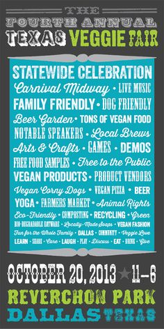 Texas Veggie Fair 2013!! #ErykahBadu #LocalBeer #LiveMusic #Vegan #Vegetarian #Eco #AnimalWelfare #Fair #Fest #Dallas #Texas