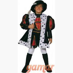 Disfraz Rey Enrique VIII. Disfraces para Niños. Disfraces de Calidad. Fabricación Nacional. www.disfracesgamar.com Rey Enrique Viii, Princess, Fancy Dress For Kids, Costume, Princesses