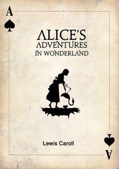 Image result for alice in wonderland book cover