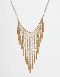 Pieces Tassel Fringe Necklace