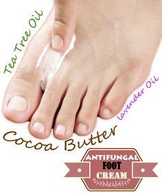 Do it yourself: antifungal foot cream