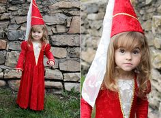 Learn to make this simple princess dress for Halloween or every day fun - it's much easier than it looks!