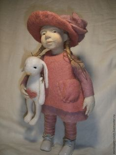 Collection handmade dolls.  Fair Masters - handmade.  Buy Moє zakvіtchane lito (on request).  Handmade.  Rose