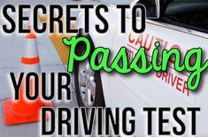 Secrets To Passing Your Drivers Test!! #Automobile #Trusper #Tip