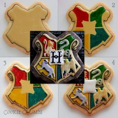 Framed Hogwarts Cookies | Cookie Connection Harry Potter