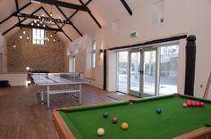 Widcombe Grange Games Barn - perfect Houseparty Venue in Somerset.