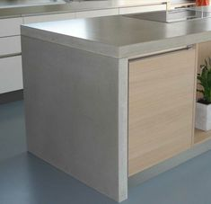 DIY Concrete Kitchen Island Reveal How To Diy concrete and
