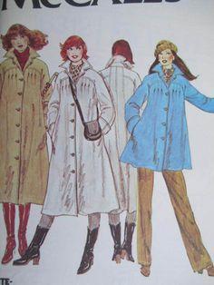 See Sally Sew-Patterns For Less - Coat Raincoat Jacket Ladies Rain Fashion McCall's 6312 Pattern Sz. 16, $10.00 (http://stores.seesallysew.com/coat-raincoat-jacket-ladies-rain-fashion-mccalls-6312-pattern-sz-16/)