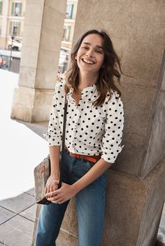 We've given the classic shirt a bit of a twist – subtle ruffle detailing brings this timeless style right up to date. Our cotton design can be dressed up for that big meeting at work, or down with a pair of jeans for brunch.