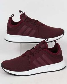Adidas Originals - Adidas X PLR Trainers in Maroon - XPLR runners  lightweight 590619a6c4
