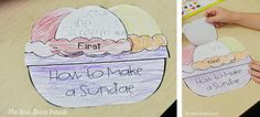 How to make an ice cream sundae expository template First Grade Reading Comprehension, 1st Grade Writing, Kindergarten Writing, Kids Writing, Teaching Writing, Opinion Writing, Writing Ideas, Life Skills Activities, Writing Activities