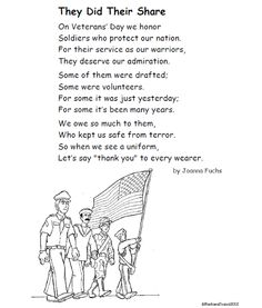 A Poem For Veterans Day