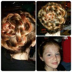 Rose braid, Irish rose