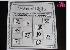 Lots of fun place value activities and tips!
