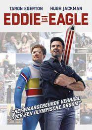 Eddie the eagle, (DVD) BILINGUAL //CAST: TARON EGERTON, HUGH JACKMAN DVDNL