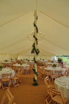 The Traditional Pole Marquee - how do you want to decorate yours?  www.abbasmarquees.co.uk